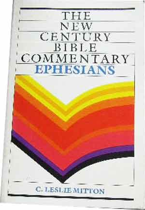 Image for Ephesians  New Century Bible Commentary
