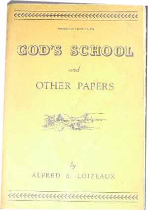 Image for God's School and Other Papers.