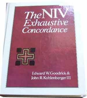 Image for The NIV Exhaustive Concordance.