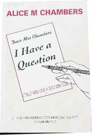 "Image for I Have a Question  Selected Items from the column ""Question Box"""