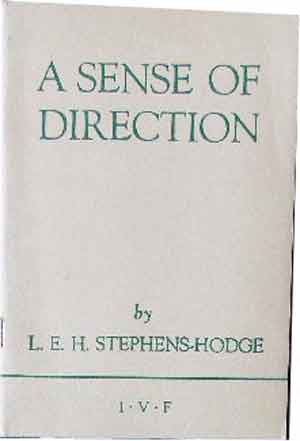Image for A Sense of Direction  A Brief Introduction to the Study of Christian Doctrine