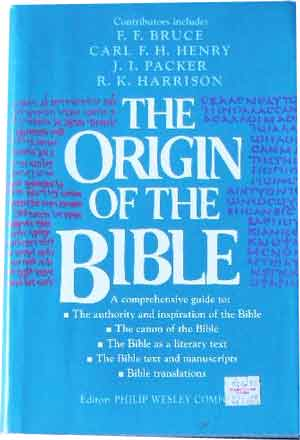 Image for The Origin of the Bible.