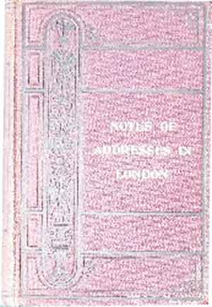 Image for Notes of Addresses in London July 1898 Bound With Notes of Readings Brixton July 1898.