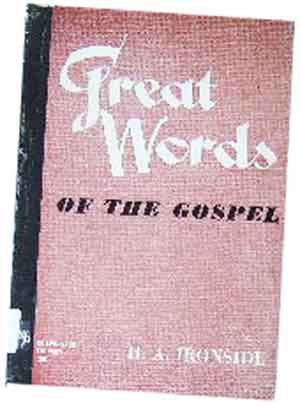 Image for Great Words of the Gospel.
