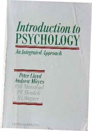 Image for Introduction to Psychology  An Integrated Approach