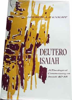 Image for Deutero-Isaiah  A theological commentary on Isaiah 40 - 55
