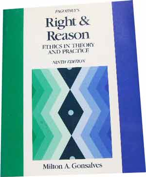Image for Fagothey's Right & Reason  Ethics in theory and practice