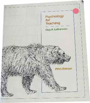 Image for Psychology for Teaching.