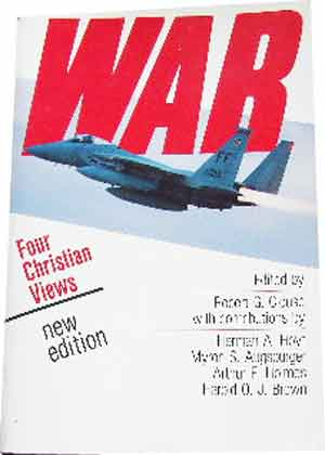Image for War. Four Christian Views.