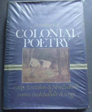 Image for A Treasury of Colonial Poetry.