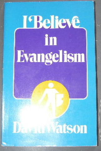 Image for I Believe in Evangelism.