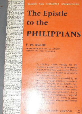 Image for A Commentary on the Epistle to the Philippians.