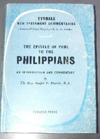 Image for The Epistle of Paul to the Philippians  An Introduction and Commentary