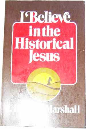 Image for I Believe in the Historical Jesus.