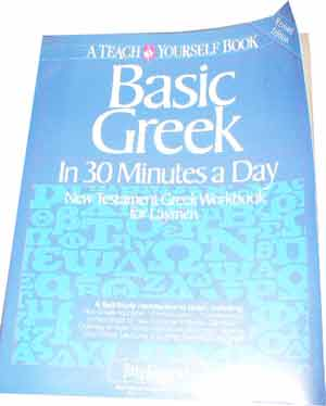 Image for Basic Greek in 30 Minutes a Day.