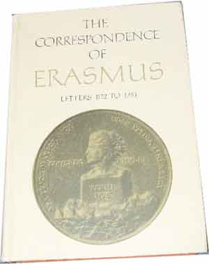 Image for Collected Works of Erasmus  Volume 8 The Correspondence of Erasmus Letters 1122 - 1251 (1520 - 1521)  Translated by R A B Mynors Annotated by Peter G Bietenholz
