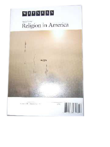 Image for Witness 11:2  Religion in America (Special Issue)  STINE (Peter) ed