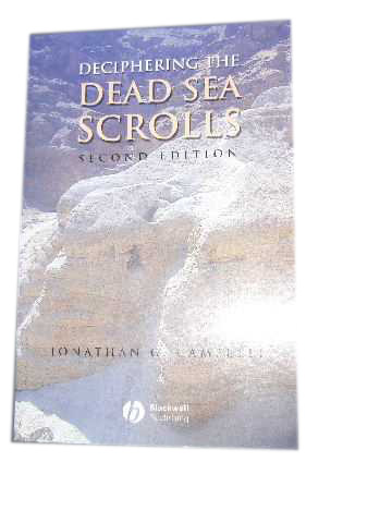 Image for Deciphering the Dead Sea Scrolls.