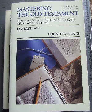 Image for Psalms (Two Volumes) Vol 1 Psalms 1 - 72 Vol 2 Psalms 73 - 150  Mastering the Old Testament Gen Ed LLoyd J Ogilvie