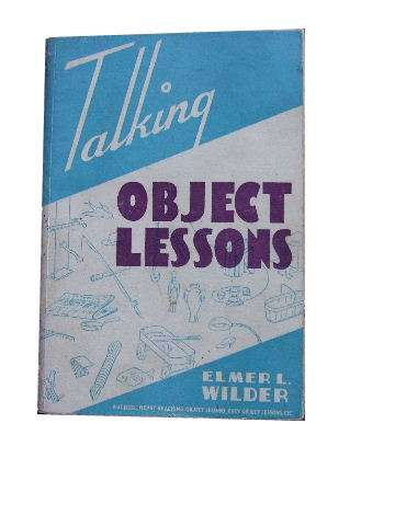Image for Talking Object Lessons  54 Appealing Object Lessons