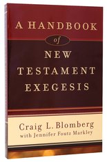Image for A Handbook Of New Testament Exegesis.
