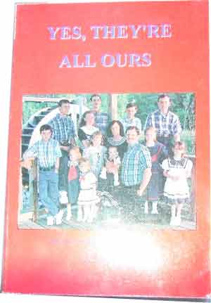 Image for Yes, they're all ours  just an average family of fourteen