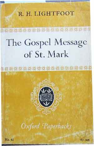 Image for The Gospel Message of St Mark.