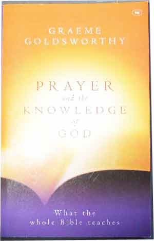 Image for Prayer And The Knowledge Of God.