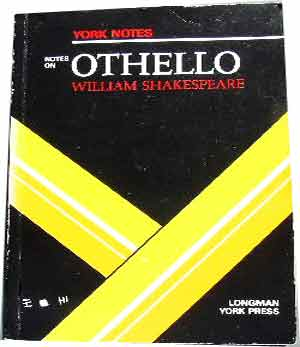 "Image for Notes on Shakespeare's ""Othello"" (York Notes)."