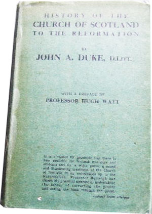 Image for History of the Church of Scotland to the Reformation.  with a preface by Professor Watt