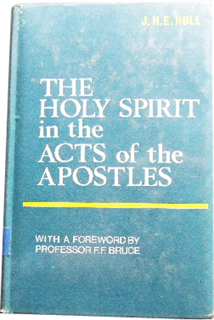 Image for The Holy Spirit in the Acts of the Apostles.