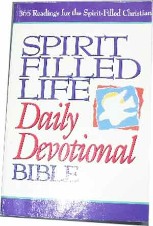 Image for Spirit Filled Life Daily Devotional Bible (New King James Version).