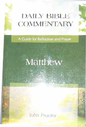 Image for Matthew  A Guide for Reflection and Prayer (Daily Bible Commentary)