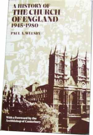 Image for A History of the Church of England 1945 - 1980.