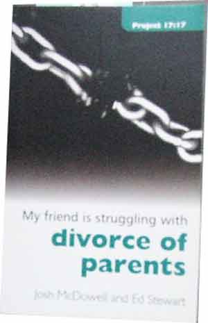 Image for My friend is struggling with Divorce of Parents.