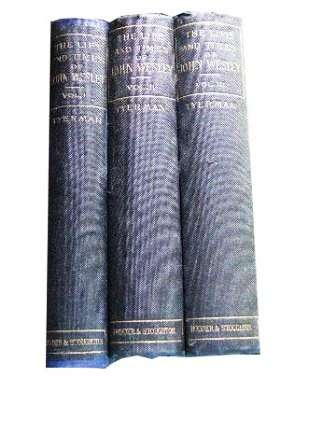 Image for The Life And Times Of The Rev. John Wesley, Founder of the Methodist. Three Volumes.