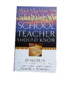 Image for What Every Sunday School Teacher Should Know.