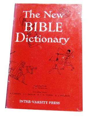 Image for The New Bible Dictionary.