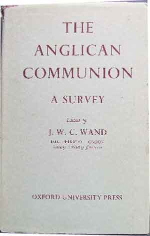 Image for The Anglican Communion  A survey