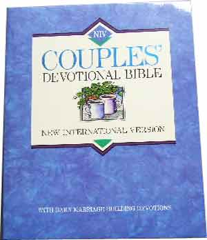 Image for NIV Couples Devotional Bible New International Version  Edited by the Staff of Marriage Partnership