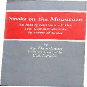 Image for Smoke on the Mountain  The Ten Commandments in Terms of Today