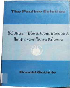 Image for New Testament Introduction. The Pauline Epistles.