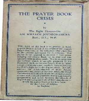 Image for The Prayer Book Crisis.
