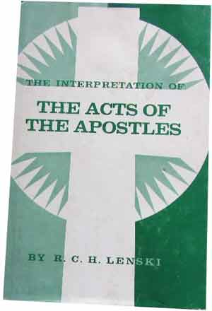 Image for The Interpretation of The Acts of the Apostles.