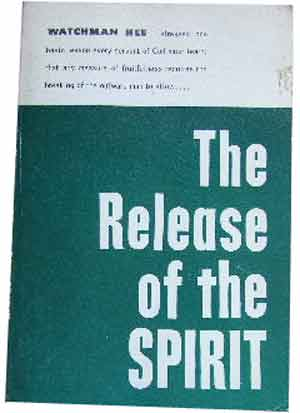 Image for Release of the Spirit.