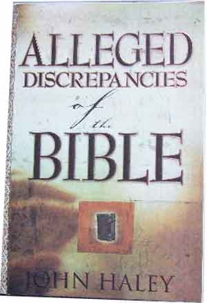 Image for Alleged Discrepancies of the Bible.