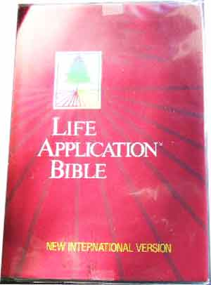 Image for Life Application Bible.