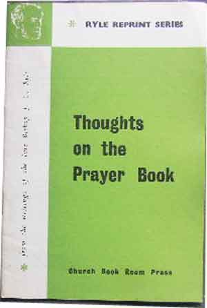 Image for Thoughts on the Prayer Book.