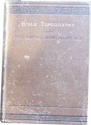 Image for Biblical Topography.