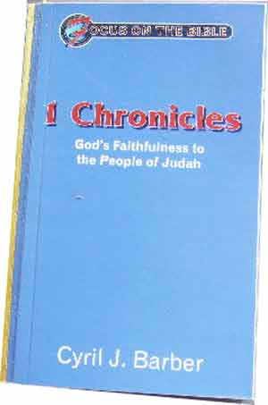 Image for 1 Chronicles: God's Faithfulness to the People of Judah  Focus on the Bible